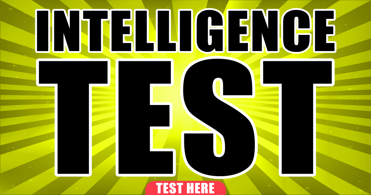 If you can score a perfect 10 in this intelligence test, you are really smart