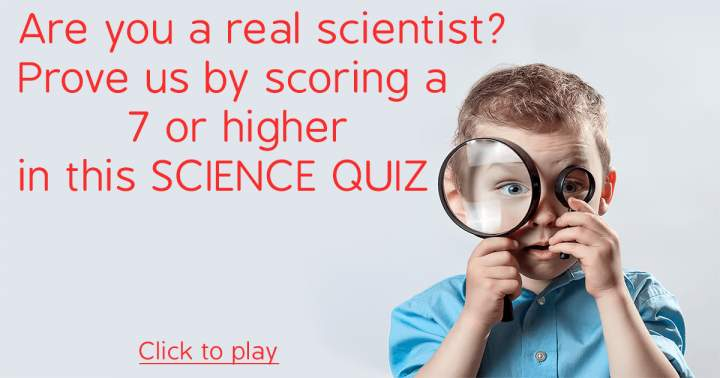 Quiz for Scientists