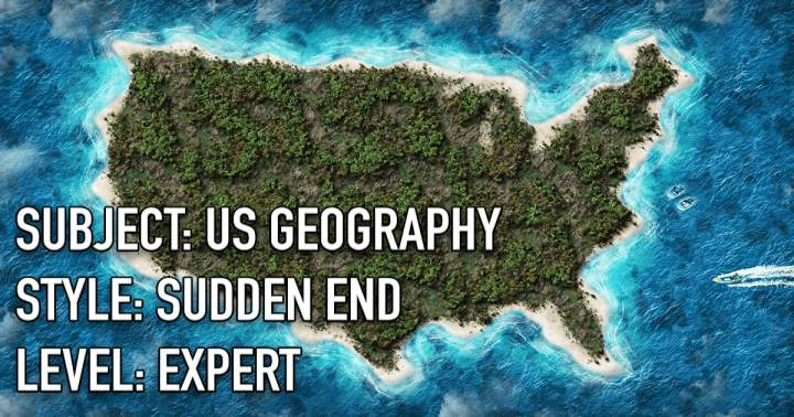 Geography Quiz About The United States Of America