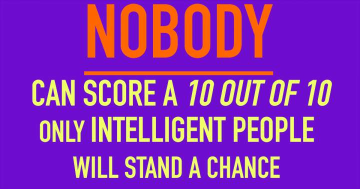 Knowledge Quiz For Intelligent People