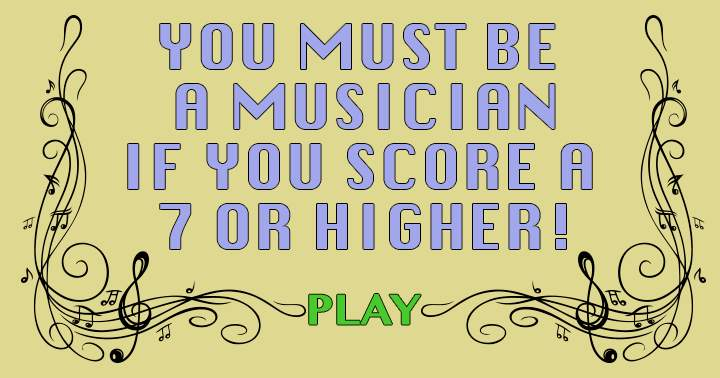 Everybody likes music, but how much do you know about it?